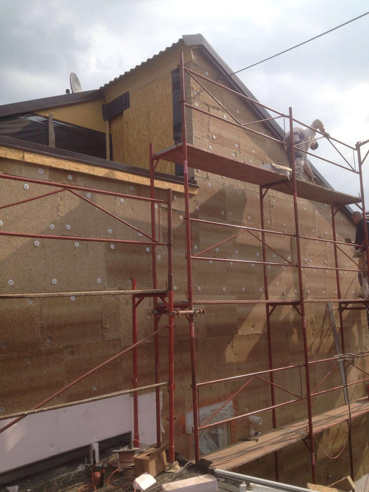 Hanf Fassadendämmung